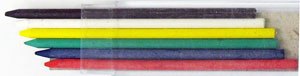 Delta 3.2mm Colored Lead 6 Pack