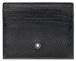 Montblanc Meisterstuck Soft Grain Leather Pocket 6 Slot Credit Card Holder