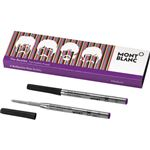 Montblanc Beatles Psychedelic Purple Ballpoint Pen Refill 2/Pack