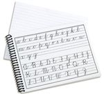 Fahrney's Exclusive Cursive Practice 6 x 8 Notebook