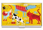 ACME Nancy Wolff Designed Dog and Cat Card Case