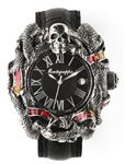 Montegrappa Sylvester Stallone Chaos Silver Enamel Automatic Watch