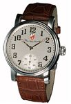 Towson Potomac Watch Silver Face / Leather Band