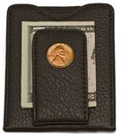 Tokens and Icons Lincoln Penny Money Clip/Wallet