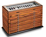 Brazilian Rosewood 151 Slot Pen Trunk