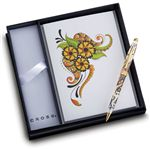 Cross Botanica Golden Magnolia Ballpoint Pen Gift Set