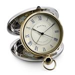 Dalvey Grand Odyssey Clock with Gold Trim