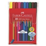 Faber-Castell Grip Color Markers 10/Pack