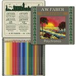 Faber-Castell 111th Anniversary Color Pencils Tin 24 Set