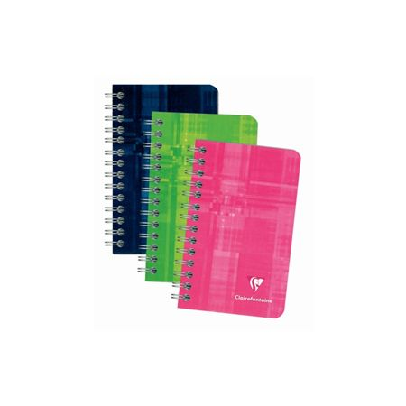 Exaclair Clairefontaine Wirebound 3 X 4 Ruled Notepad 4/PK