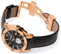 Montegrappa NeroUno Lifestyle Rose Gold Watch