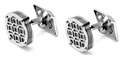 Montegrappa Filigree Stainless Steel Cufflinks