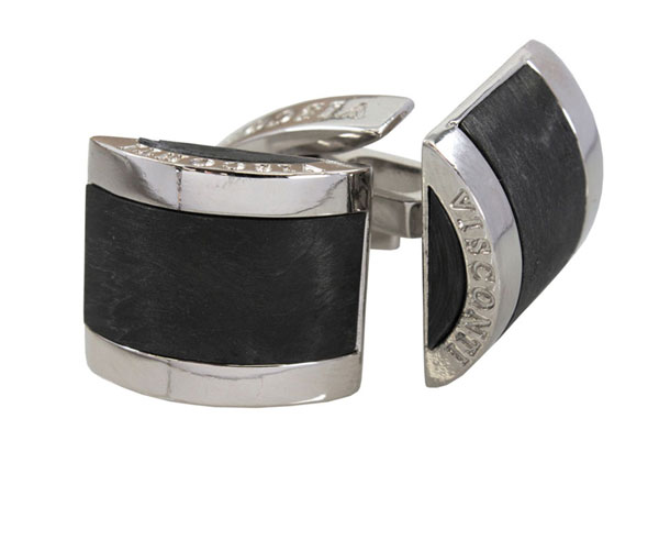 Visconti Carbon Bridges Cufflinks