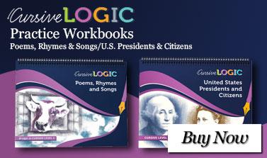CursiveLogic Practice Workbooks