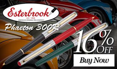 Esterbrook Phaeton 300R Fountain Pen M/Nib