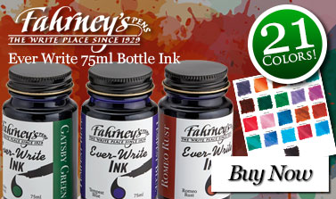 Fahrneys Ever Write 75ml Bottle Ink