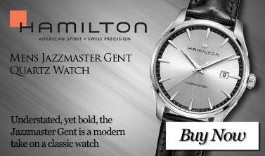 Hamilton Mens Jazzmaster Gent Quartz Watch