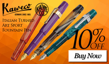 Kaweco Italian Turned Art Sport Fountain Pen