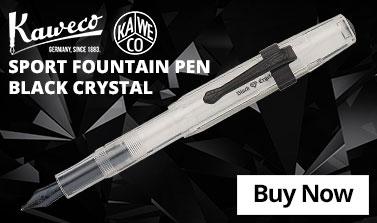 Kaweco Sport Fountain Pen Black Crystal