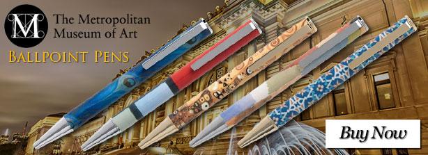 Metropolitan Museum of Art Ballpoint Pens
