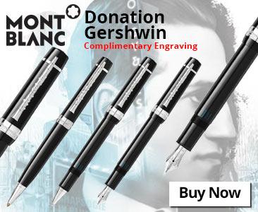 Montblanc Donation Gershwin