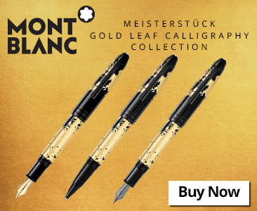 Montblanc Gold Leaf Calligraphy Collection
