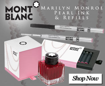 Montblanc Marilyn Monroe Pearl Ink and Refills