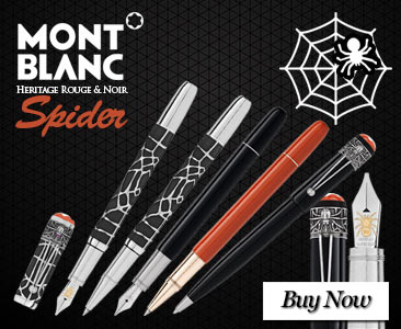 Montblanc Heritage Rouge and Noir Spider