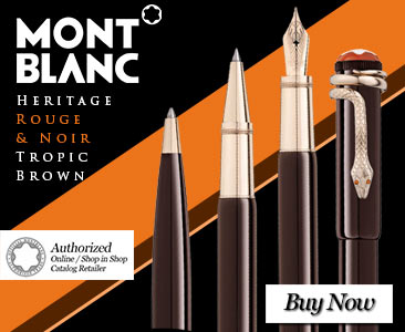Montblanc Heritage Rouge and Noir Tropic Brown