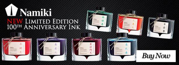 Namiki 100th Anniversary Ink