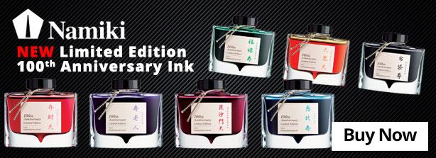 Namiki 100th Anniversary 50ML Ink