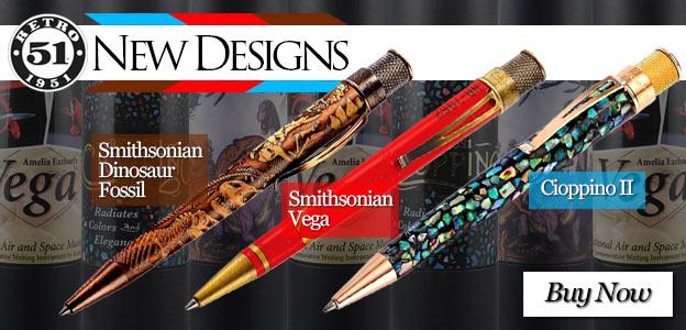 Retro 51 New Designs - Smithsonian Dinosaur Fossil, Smithsonian Vega and Cioppino 2