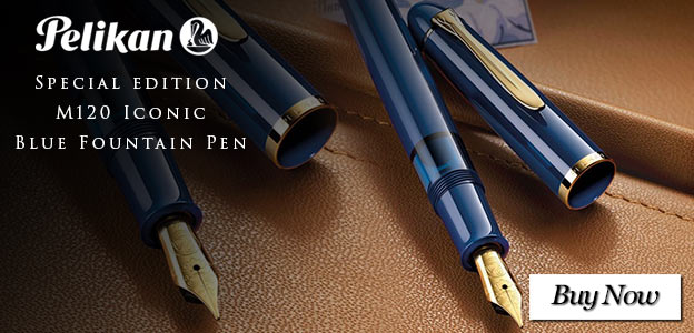 Pelikan Special Edition M120 Iconic Blue Fountain Pen