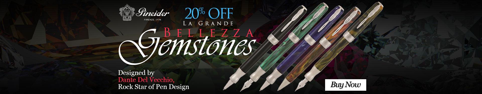 Pineider La Grande Bellezza Gemstones 20% Off