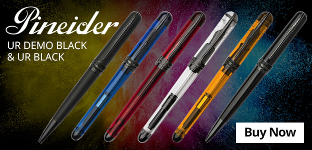 Pineider UR Demo Black & UR Black