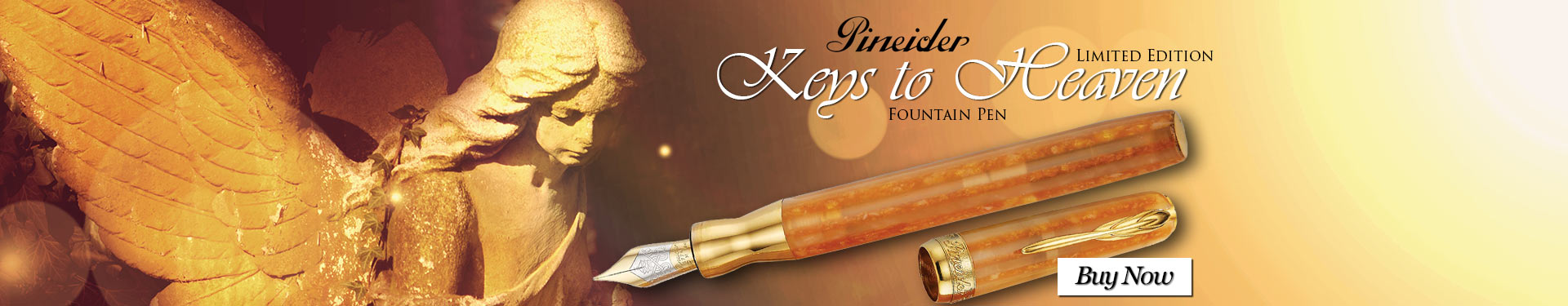 Pineider Limited Edition Keys to Heaven Fountain Pen