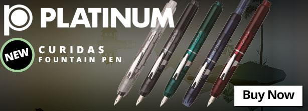 Platinum Curidas Fountain Pen