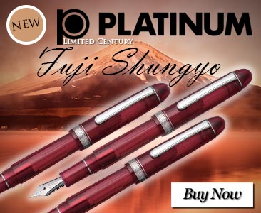 Platinum 3776 Century Shungyo Fountain Pen