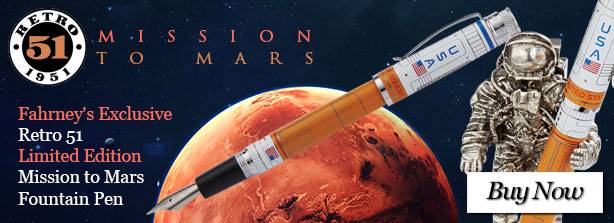 Fahrney's Exclusive Retro 51 Limited Edition Mission to Mars Fountain Pen