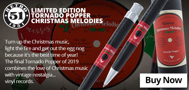 Retro 51 Limited Edition Tornado Popper Christmas Melodies Rollerball/Ballpoint