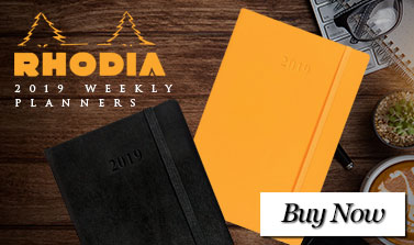 Rhodia 2019 Weekly Planners
