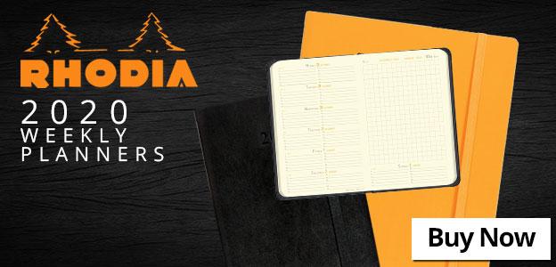 Rhodia 2020 Weekly Planners