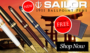 New Sailor 1911 Ballpoint Pens