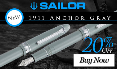 Sailor 1911 Anchor Gray