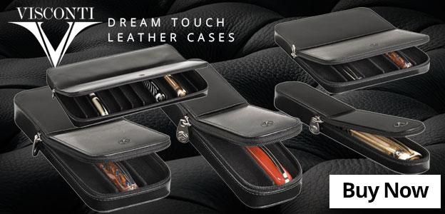 Visconti Dreamtouch Leather Cases