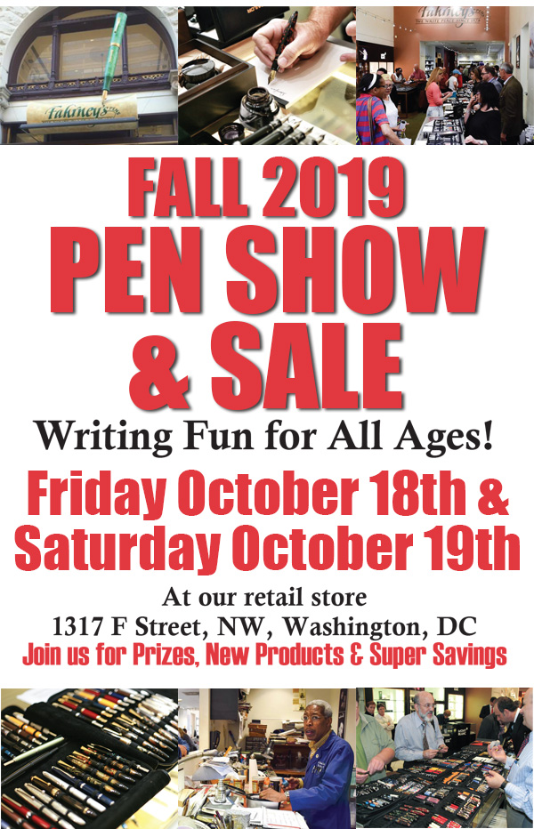 Pen Show and Sale