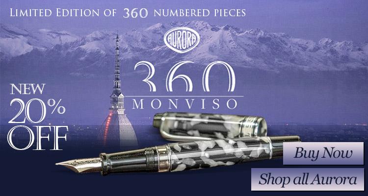 Aurora Limited Edition Optima 360 Monviso Fountain Pen