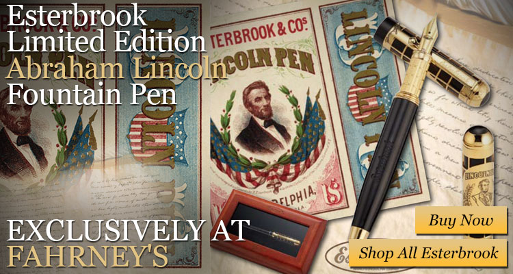 Esterbrook Limited Edition Abraham Lincoln Fountain Pen