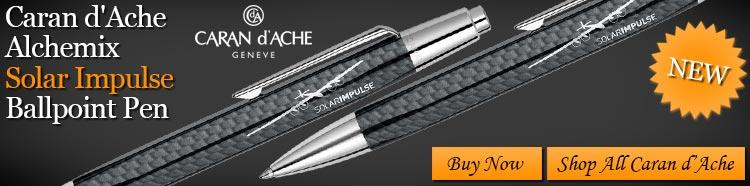 Caran d'Ache Alchemix Solar Impulse Ballpoint Pen