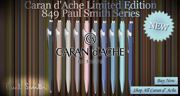 Caran d'Ache Limited Edition Paul Smith Ballpoint Pen